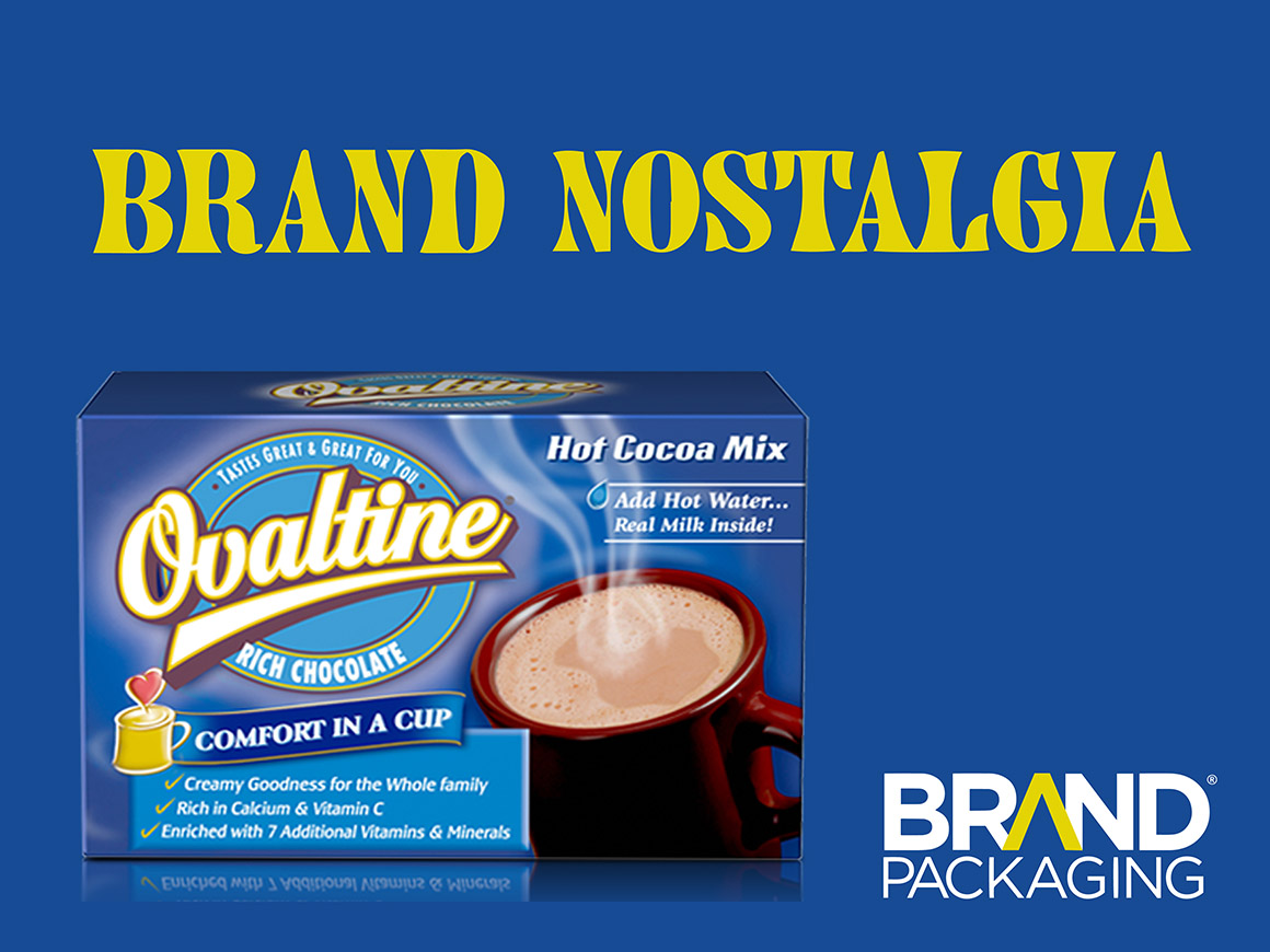 Brand Nostalgia Ovaltine Package Design