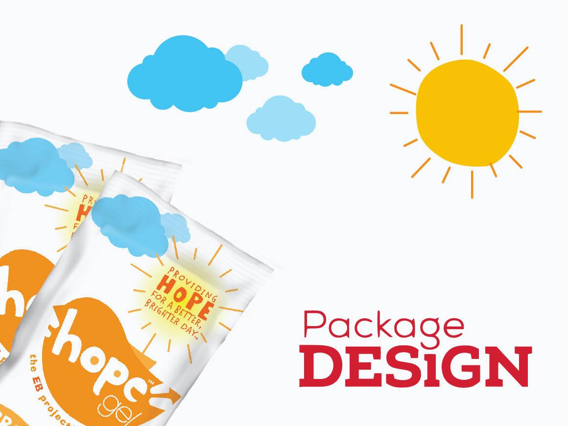 Hope Gel Package Design Magazine
