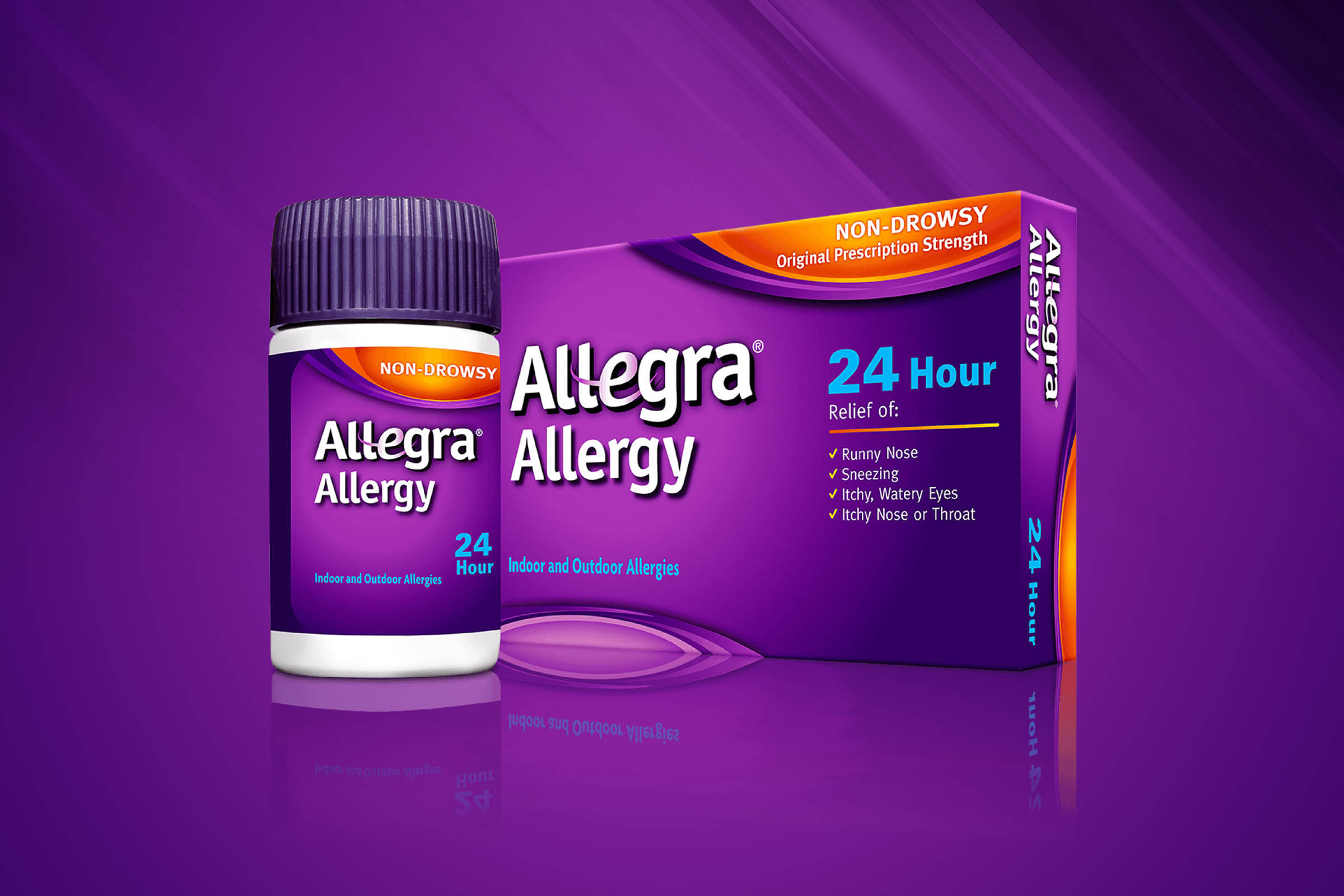 Allegra Allergy Package Design