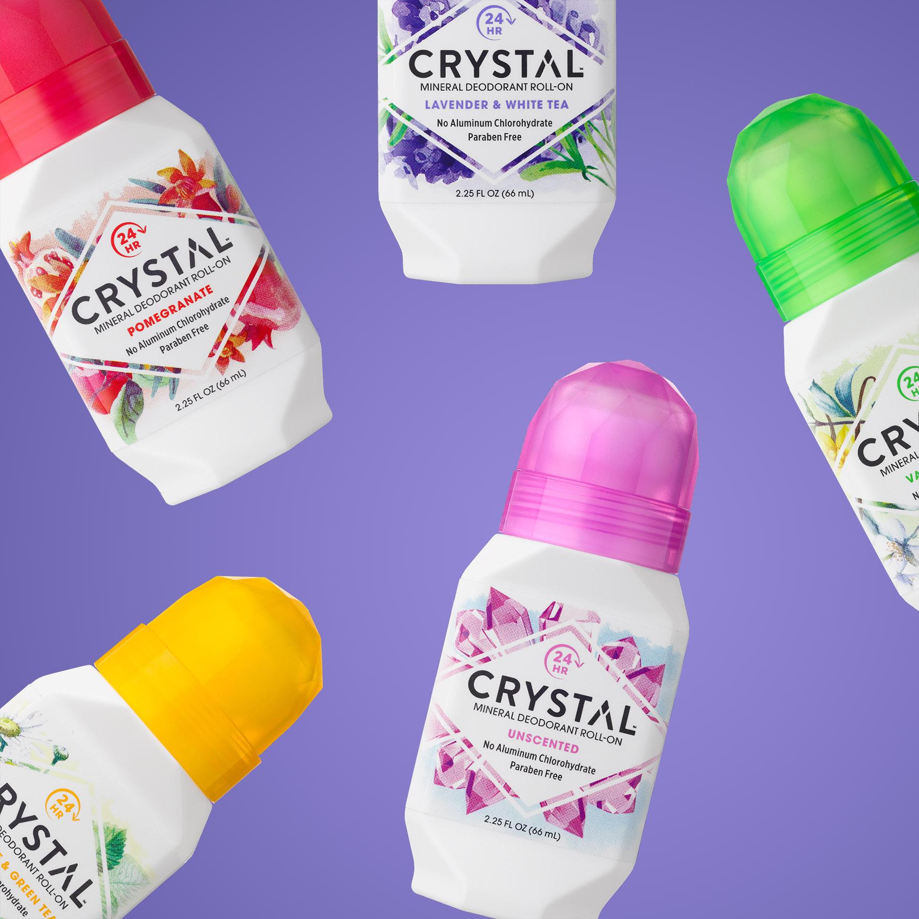 Crystal Deodorant Roll-On