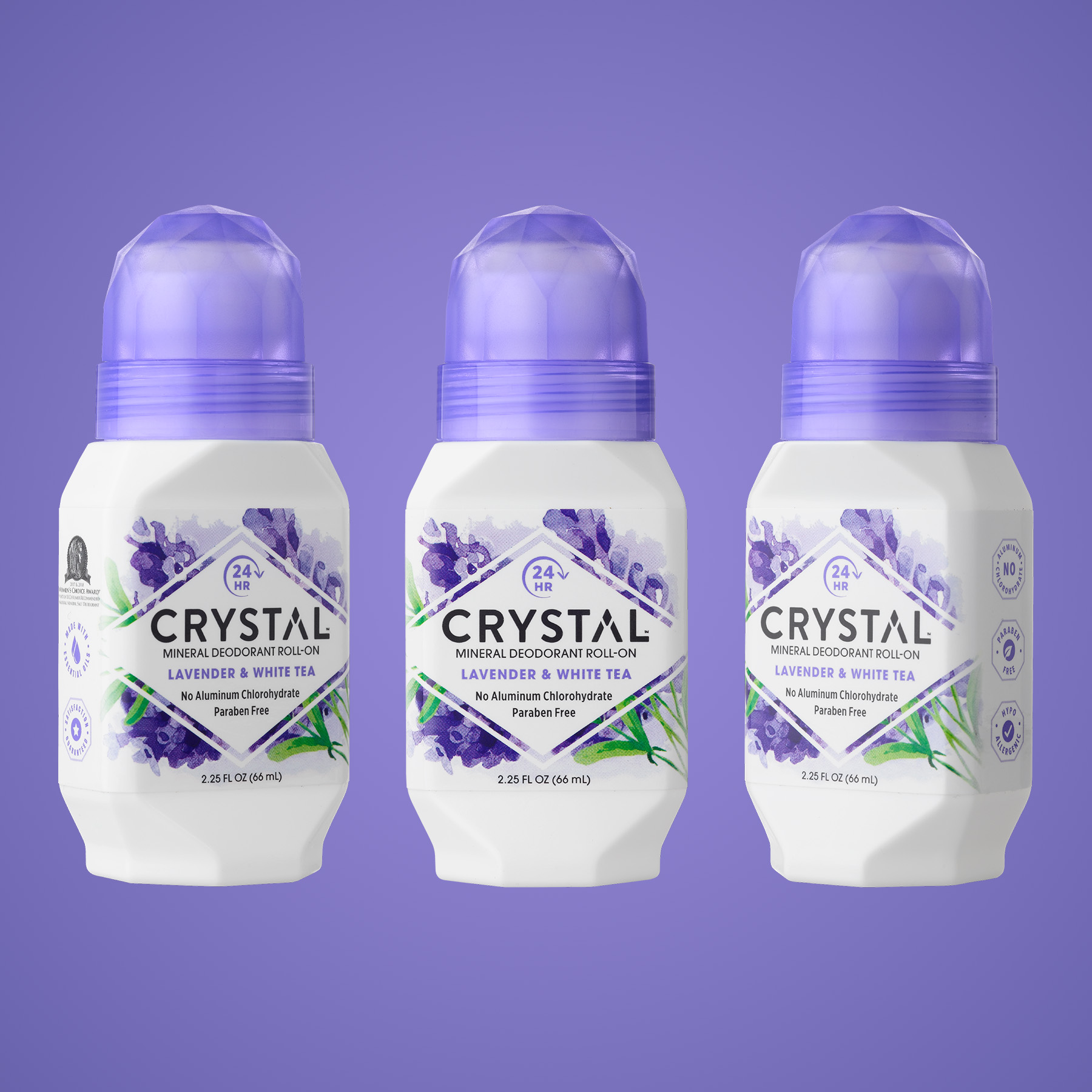 Crystal Deodorant Structure