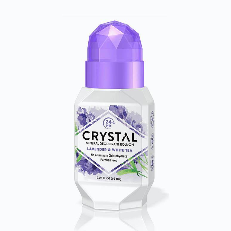 Crystal Deodorant Structure 3D Rendering with Art