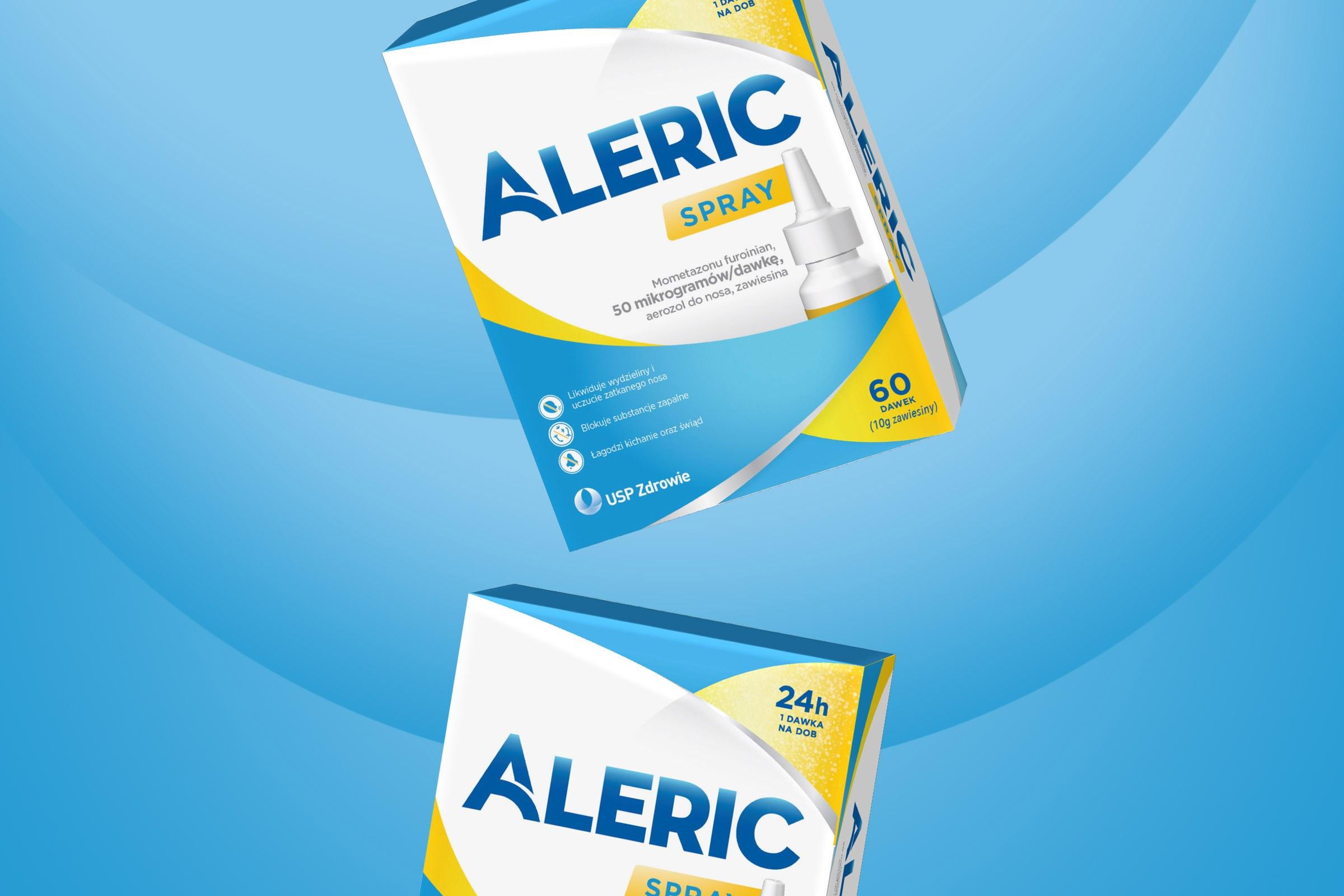 Aleric Spray Package Design