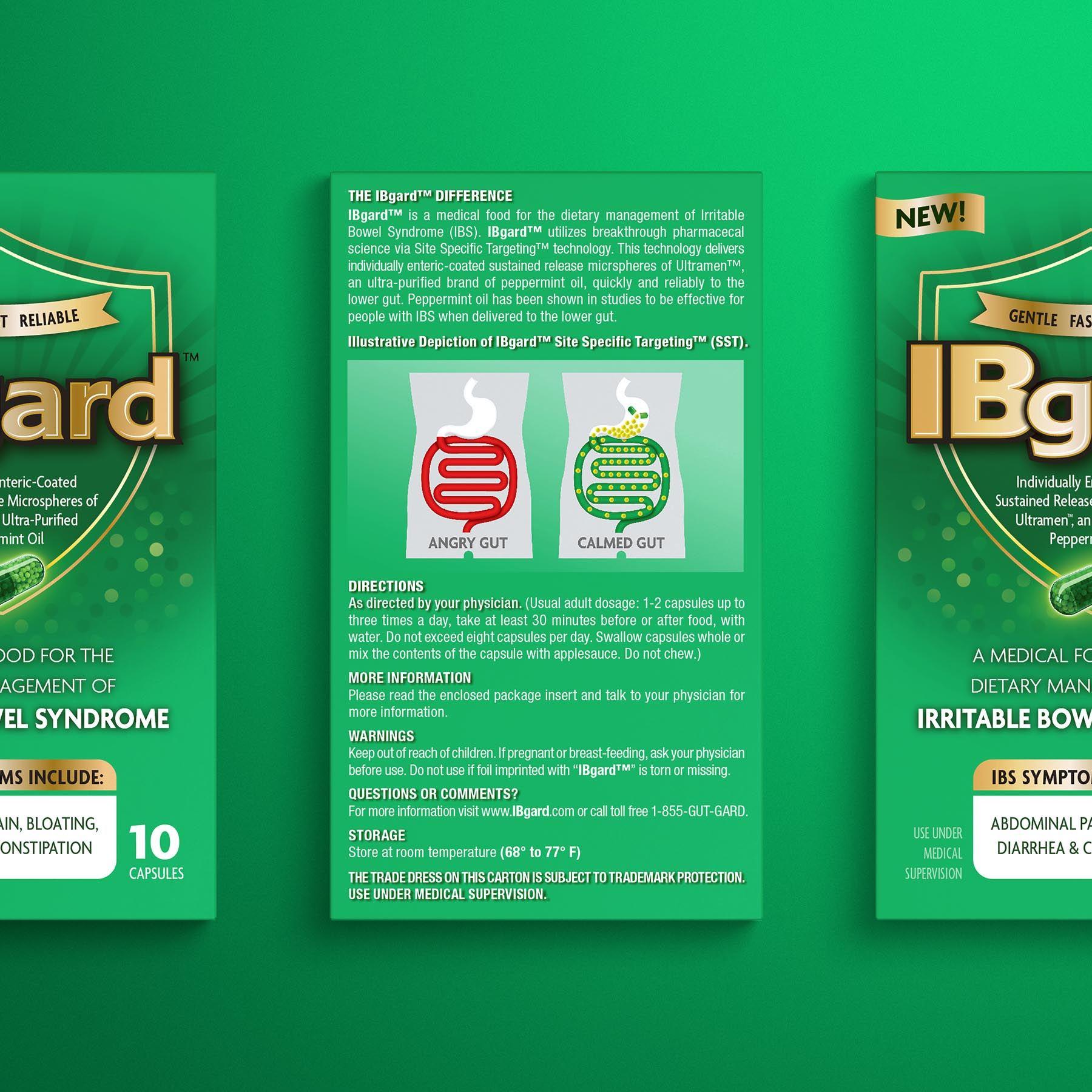IBgard Packaging Back Panel