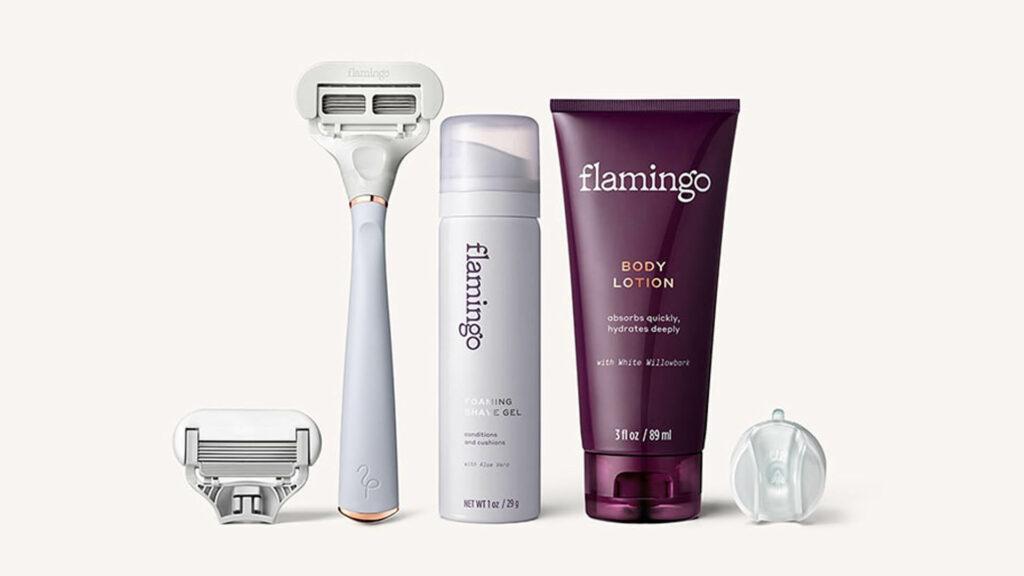 Flamingo Women Shave Set