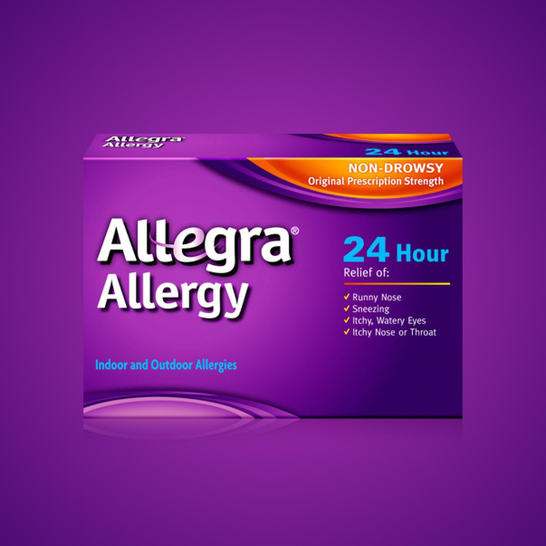 Allegra Allergy Packaging