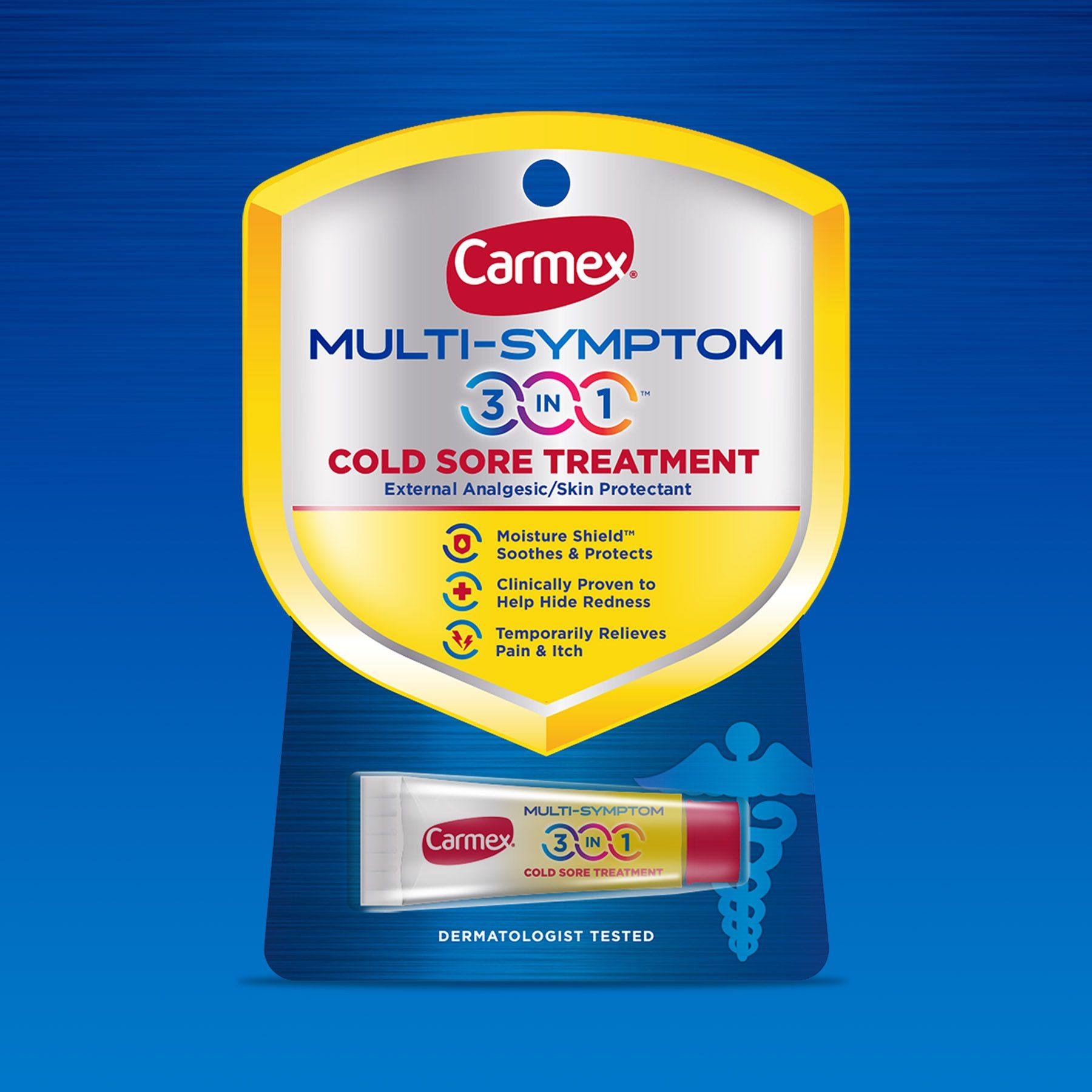 Carmex Multi-Symptom Front View