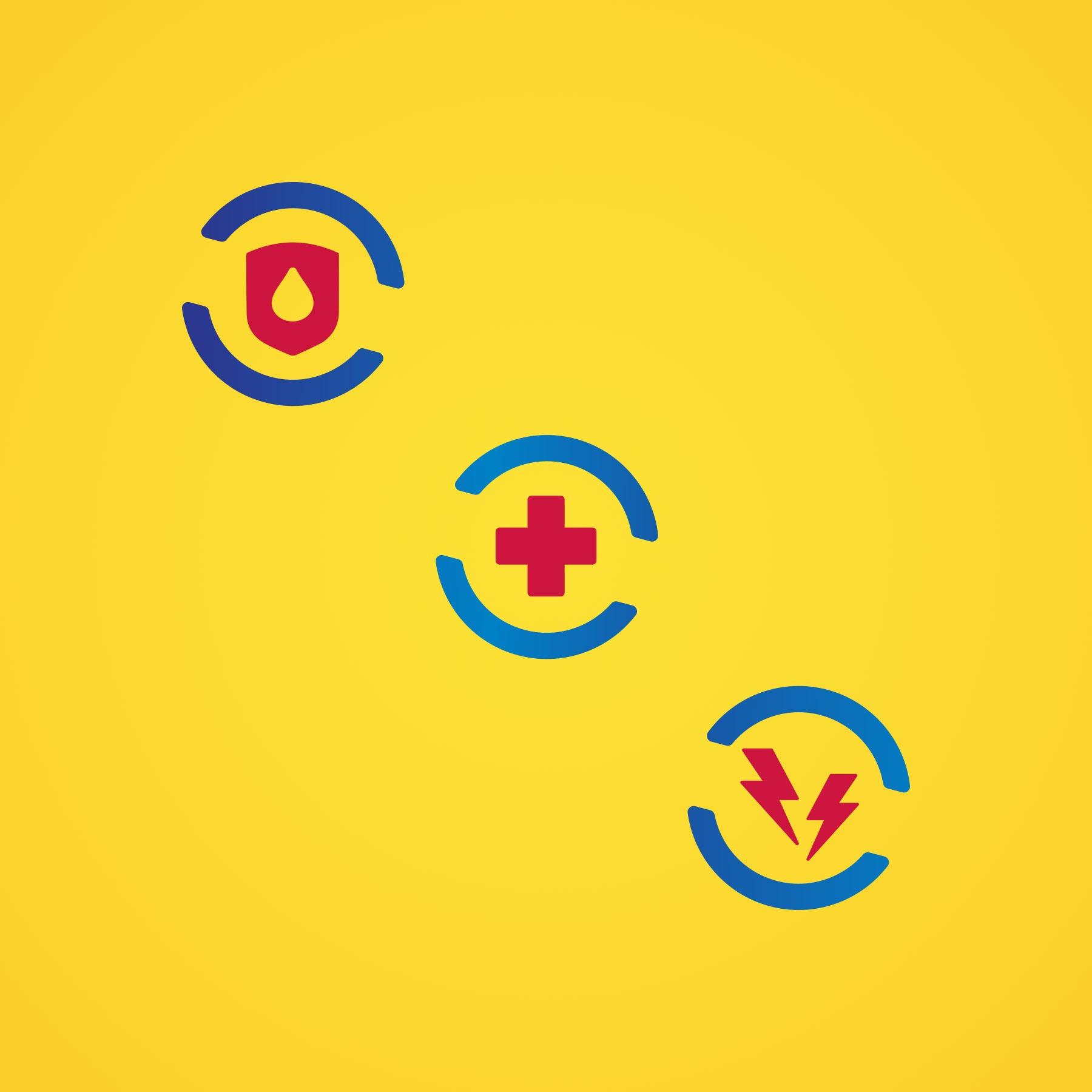 Carmex Multi-Symptom 3-in-1 Icons