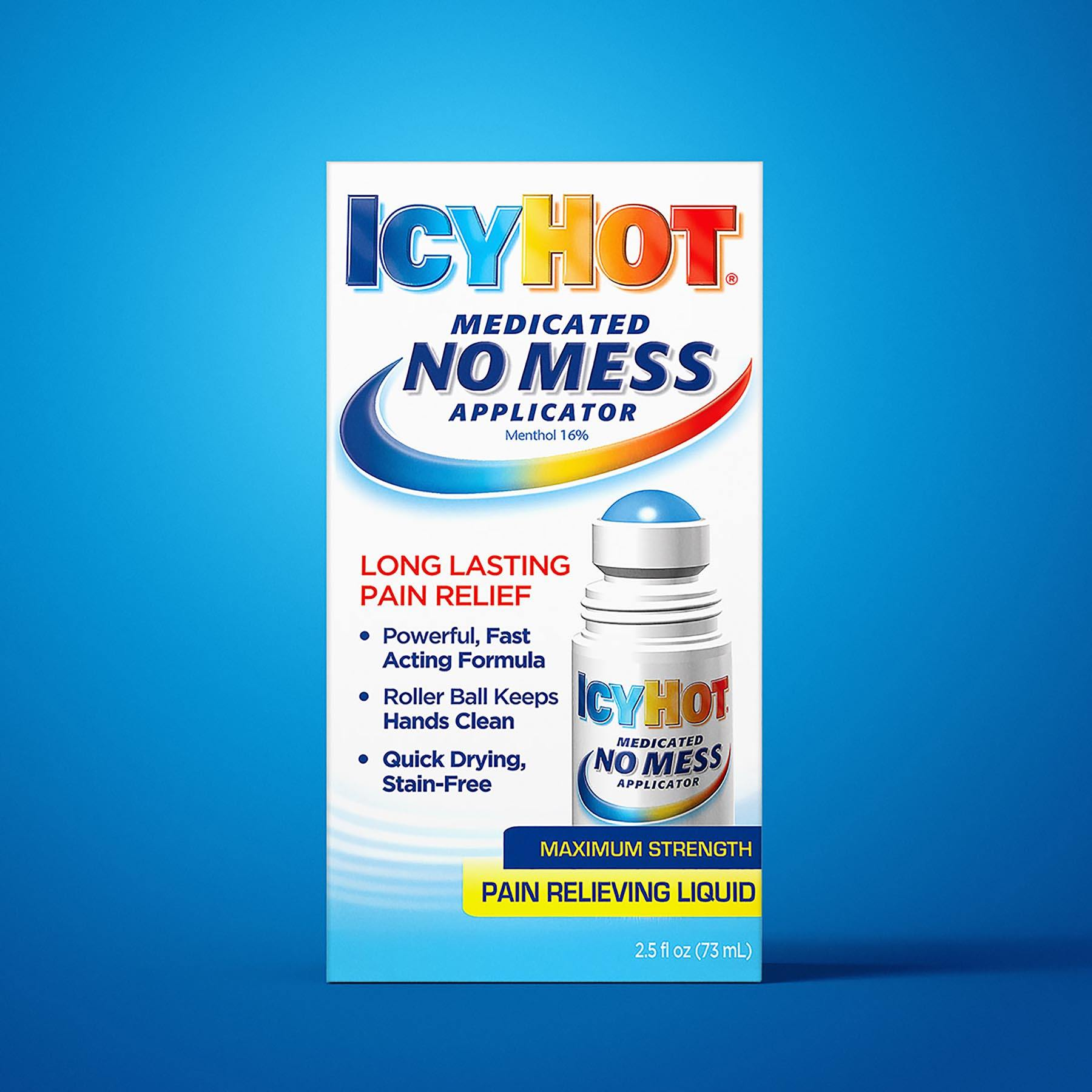 IcyHot No Mess Applicator Package Design