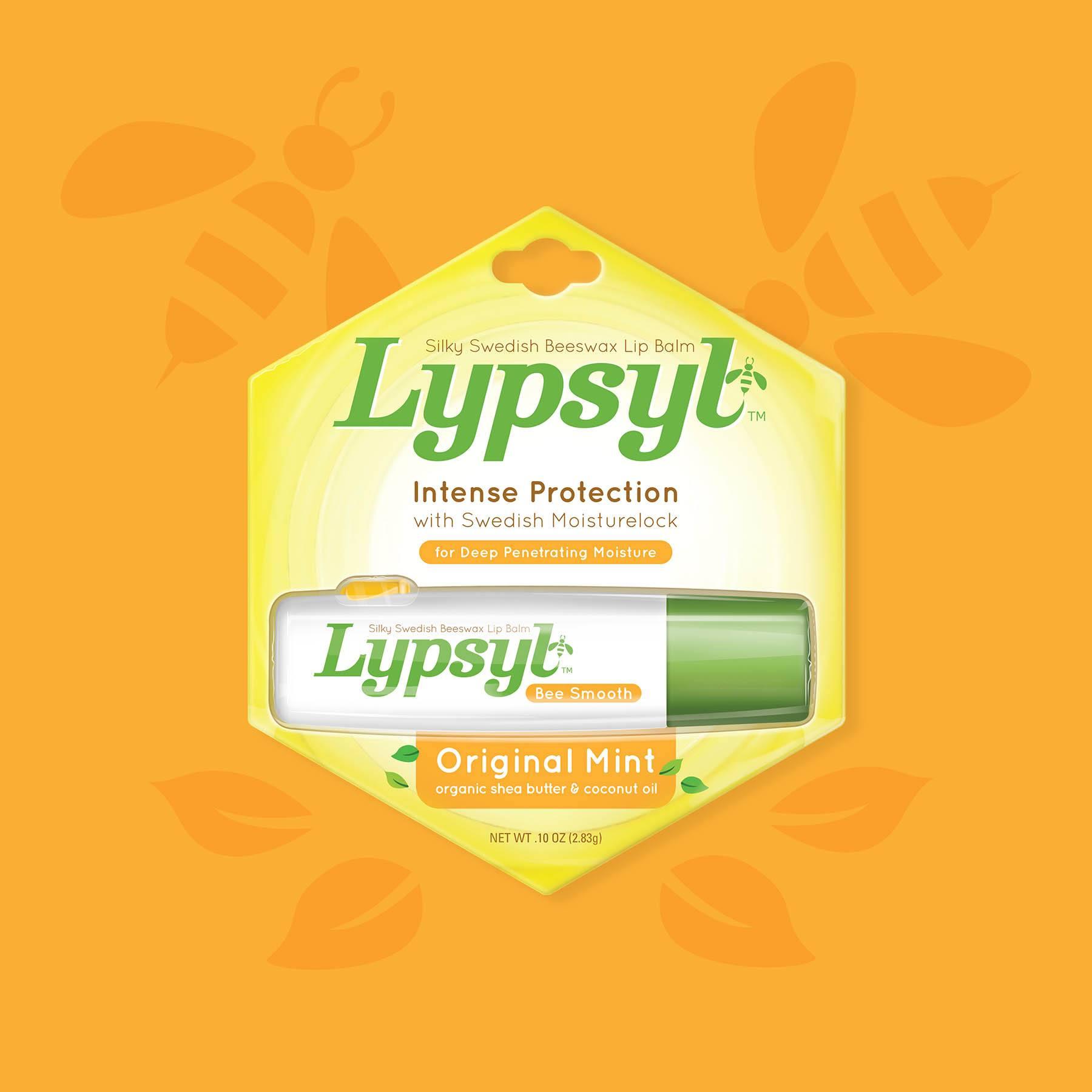 Lypsyl Lip Balm Mint Package Design