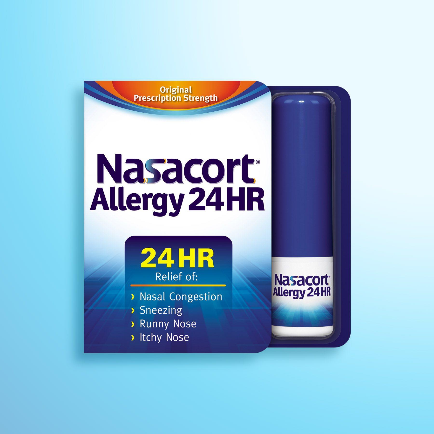 Nasacort Package Design