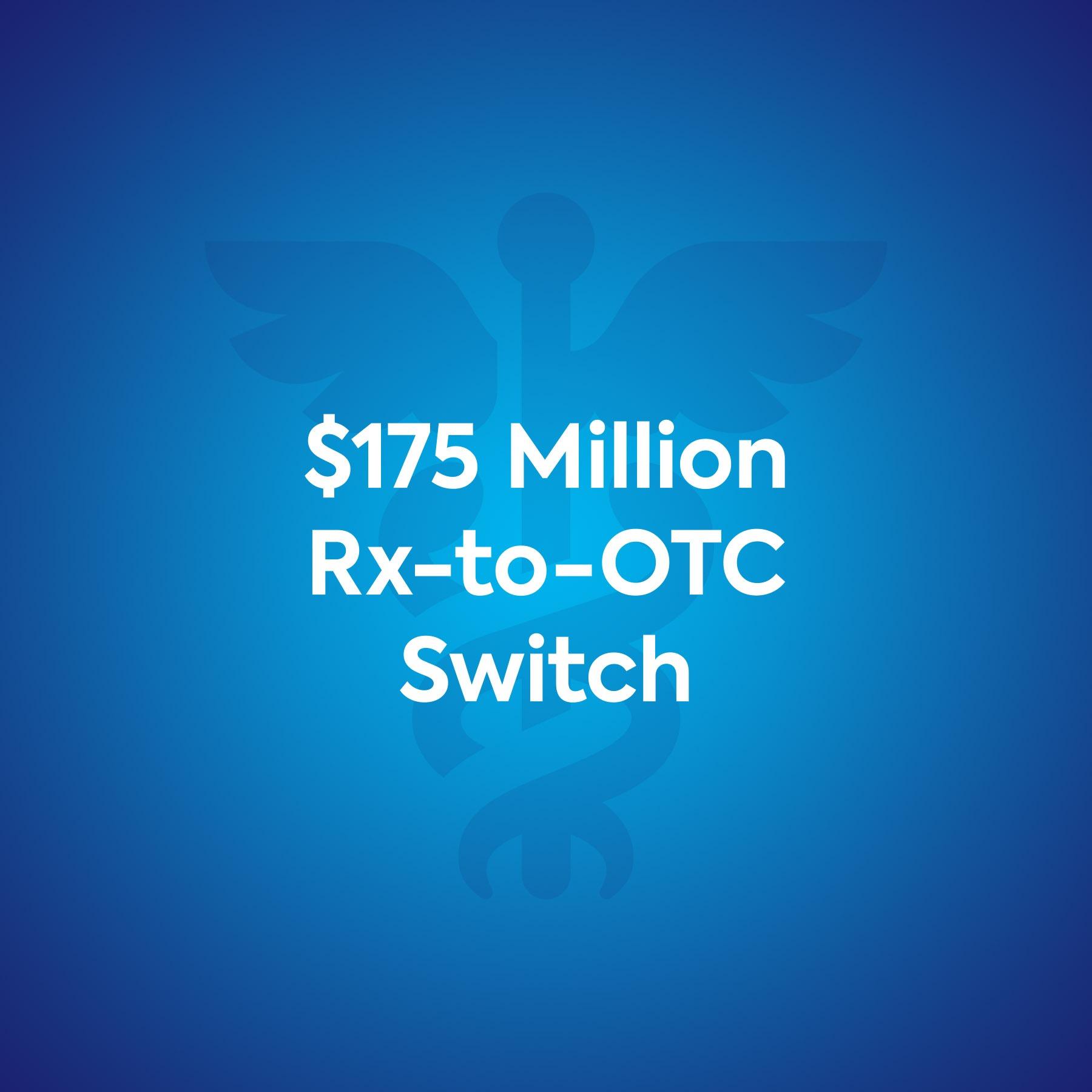 Nasacort $175 Million Rx-to-OTC Switch