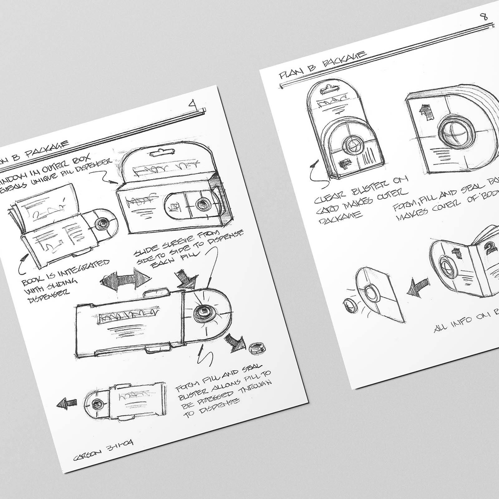 Plan B Package Drawings