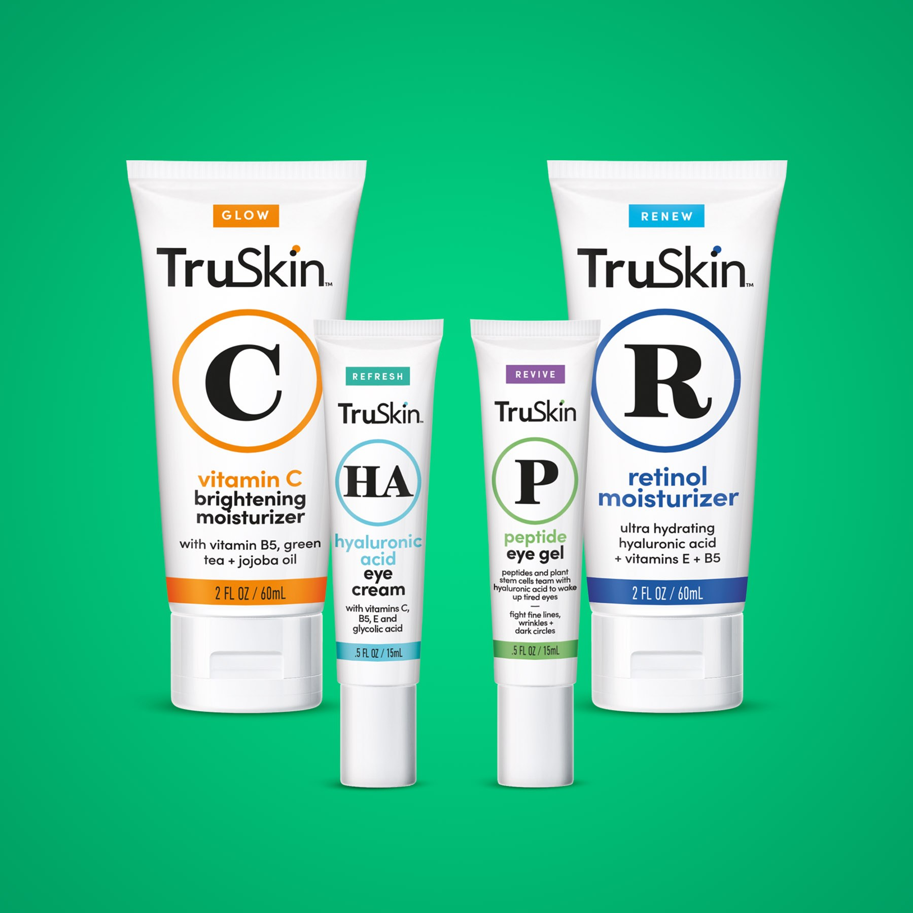 TruSkin Moisturizers and Creams Package Design