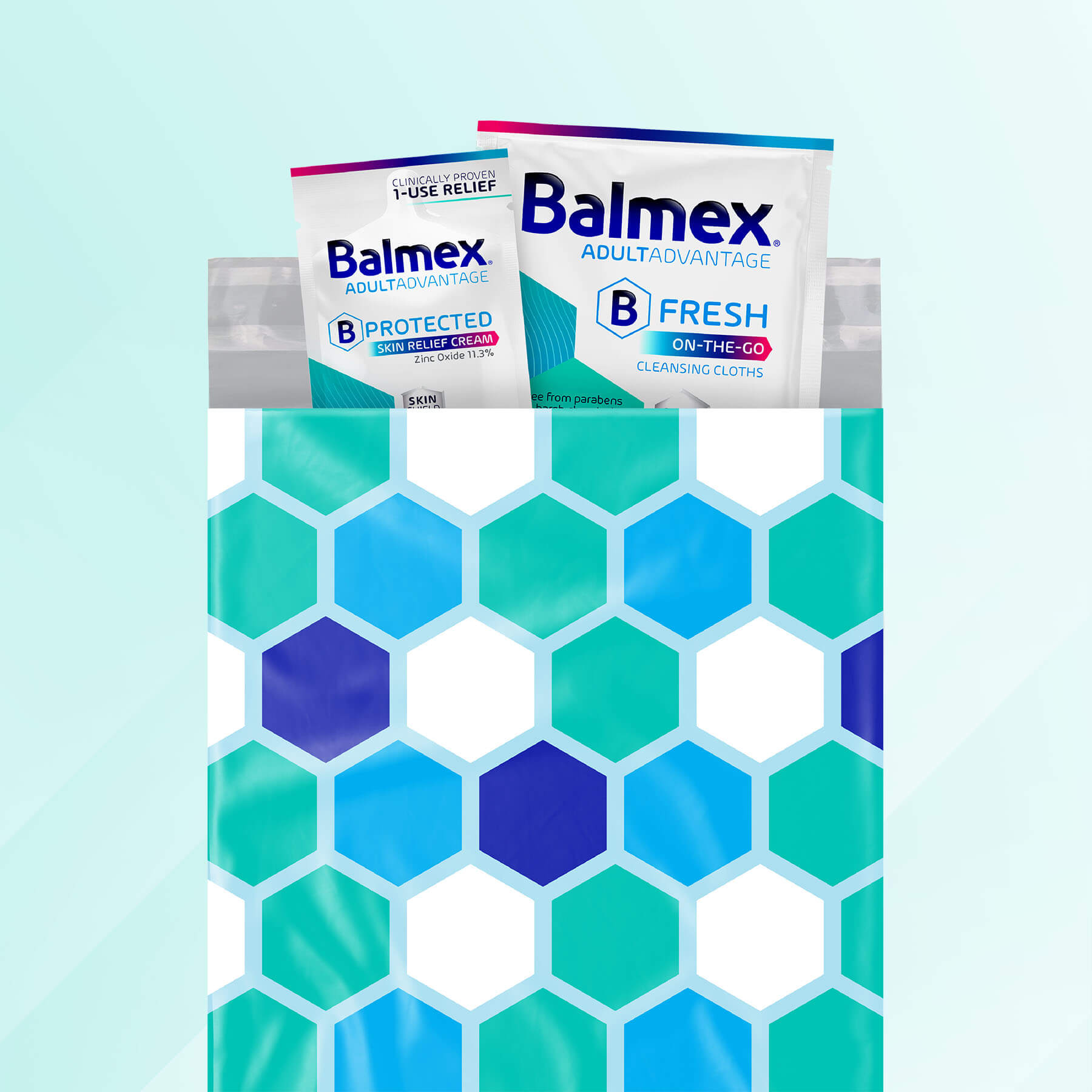 Balmex Adult On-the-Go Cream and Cleansing Cloth