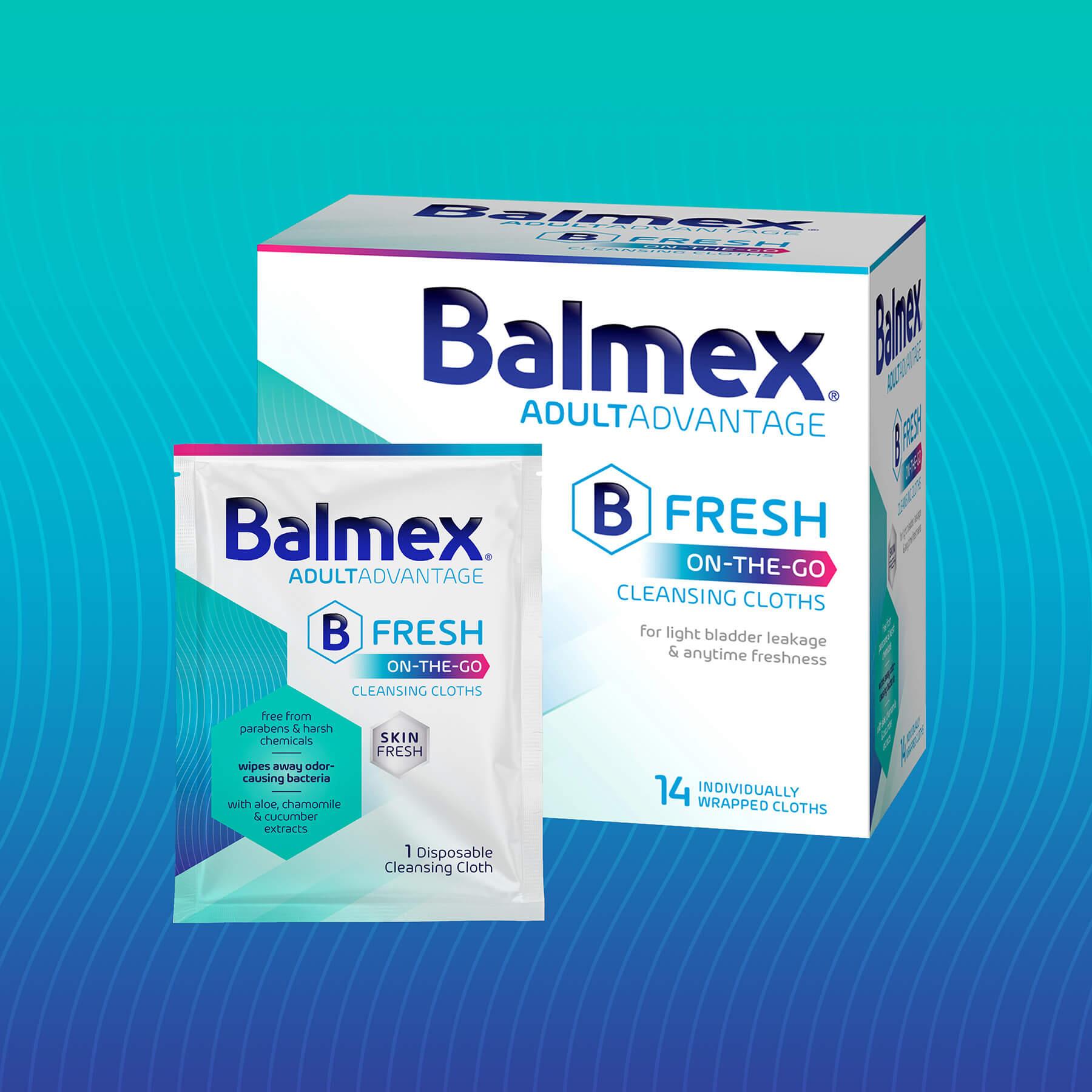 Balmex Adult Cleansing Cloths
