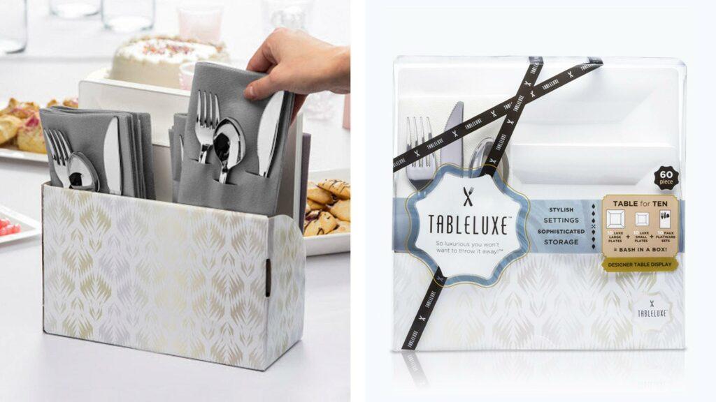 TableLuxe Packaging as Presentation