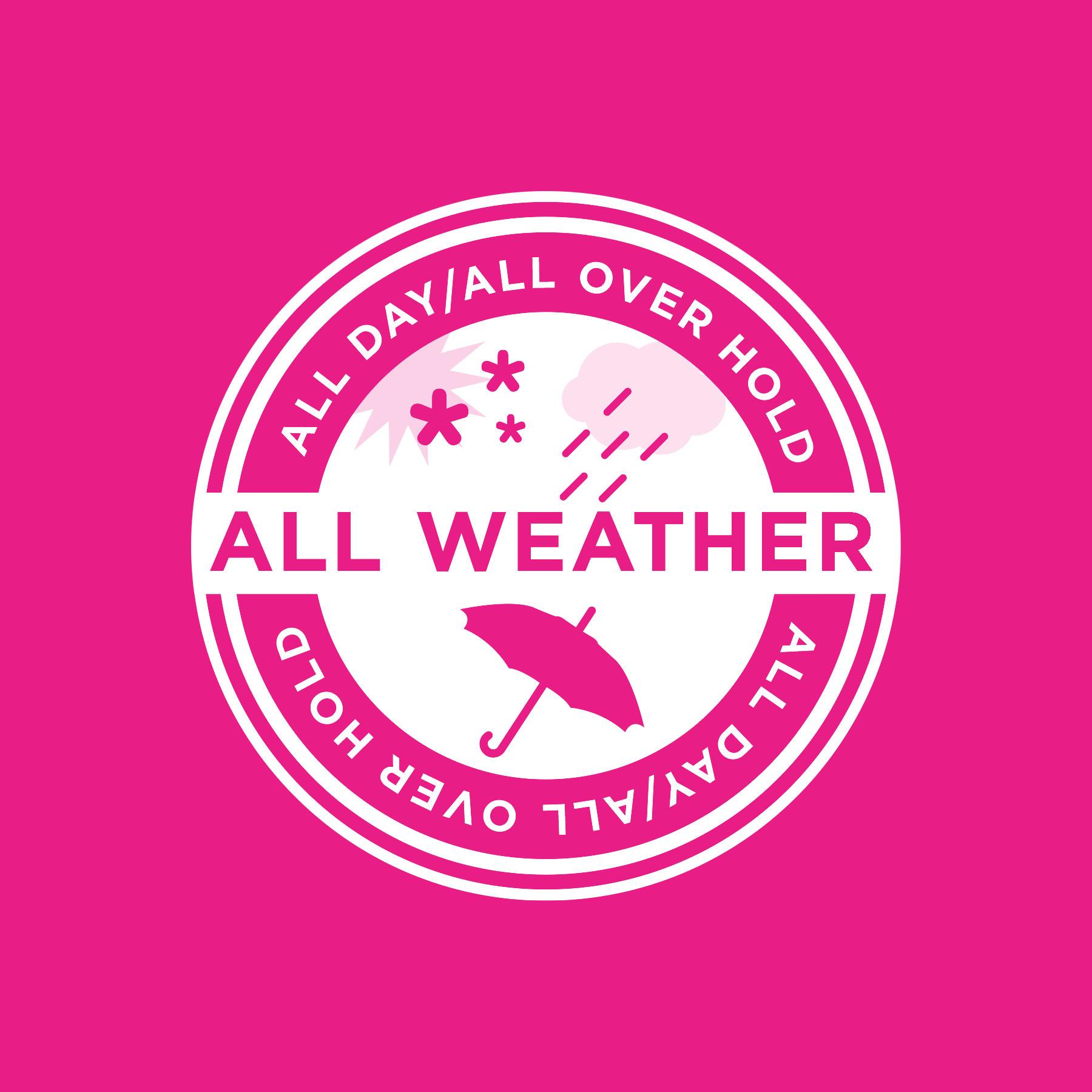 Aqua Net All Weather Badge