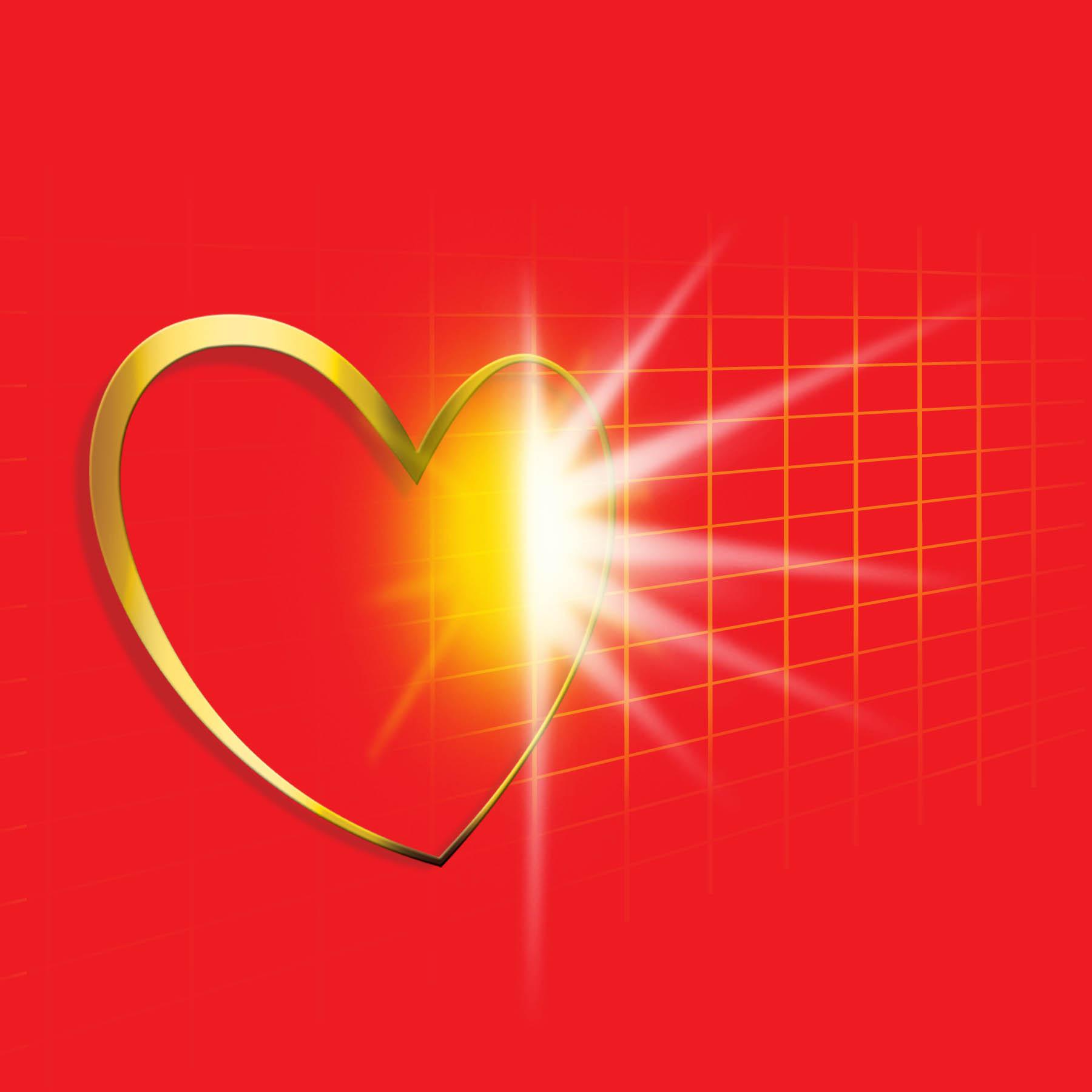Bayer EKG Heart Graphic