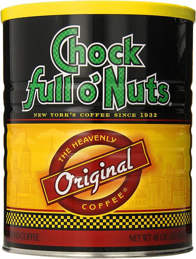 Chock full o' Nuts Before GGB