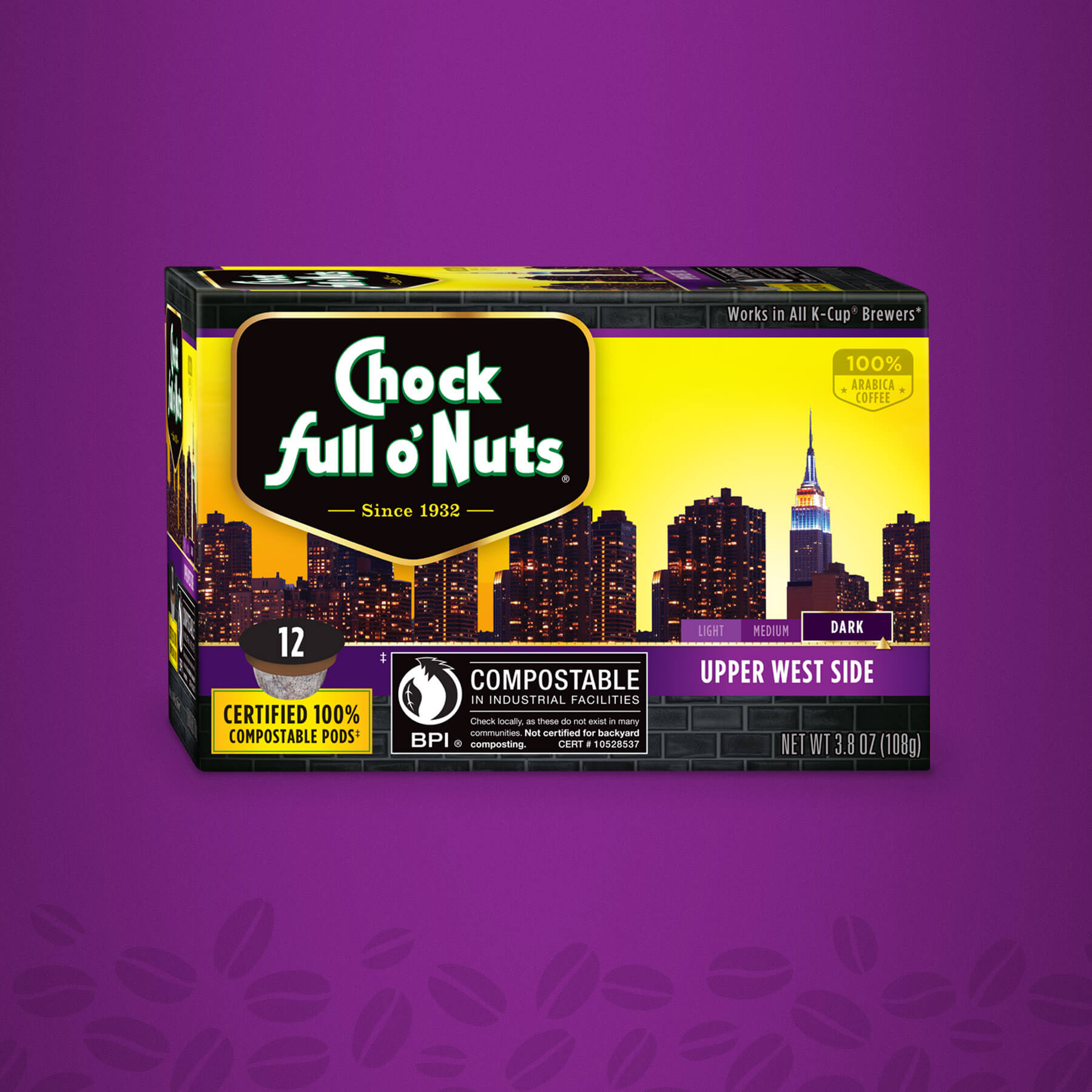 Chock full o' Nuts Upper West Side Package Design