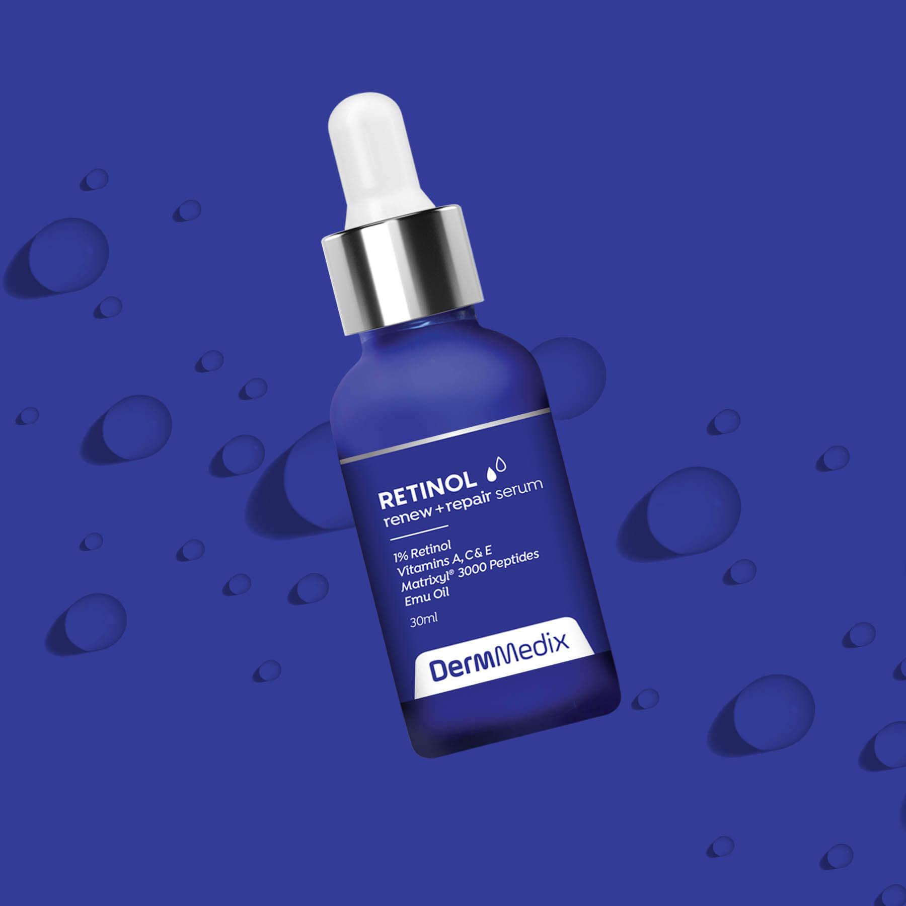 DermMedix Retinol Serum Package Design