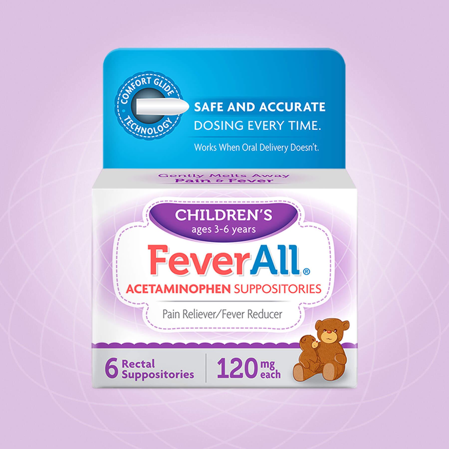 FeverAll Children Package Design