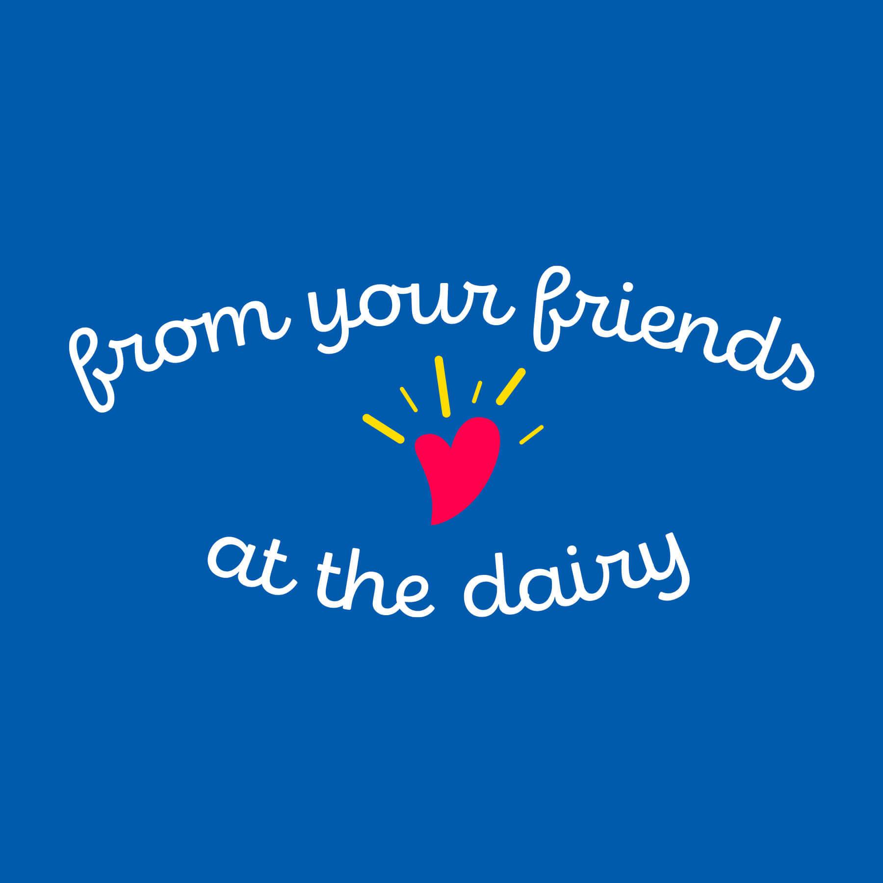 Friendship Dairies Signoff