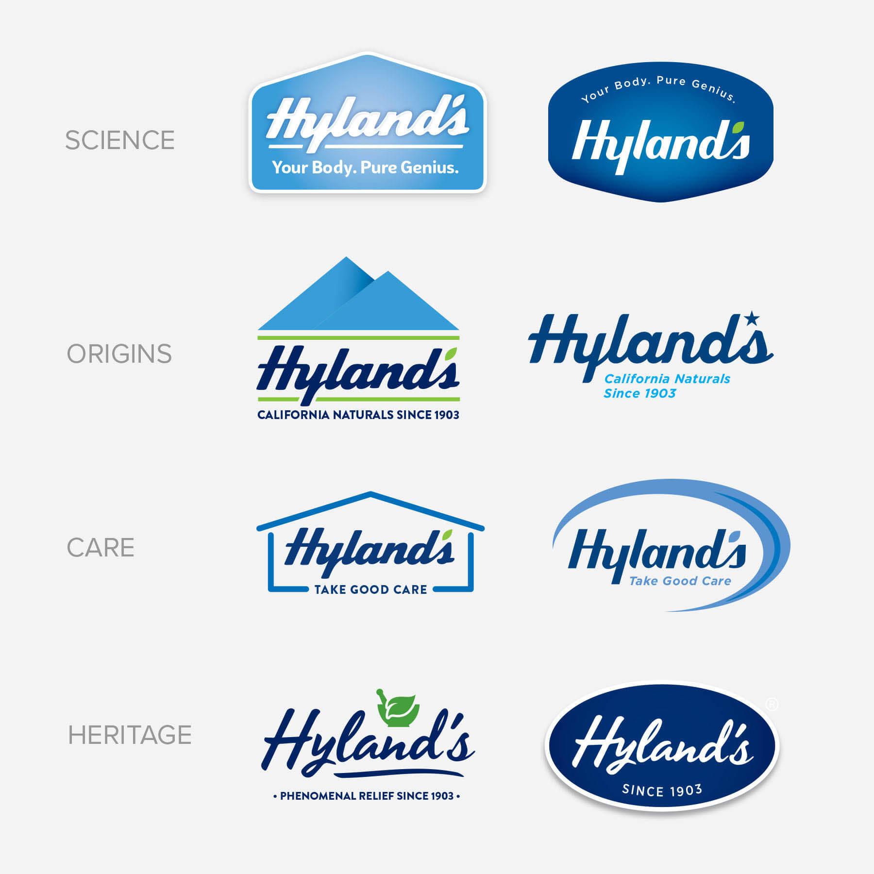 Hyland's Logo Exploration