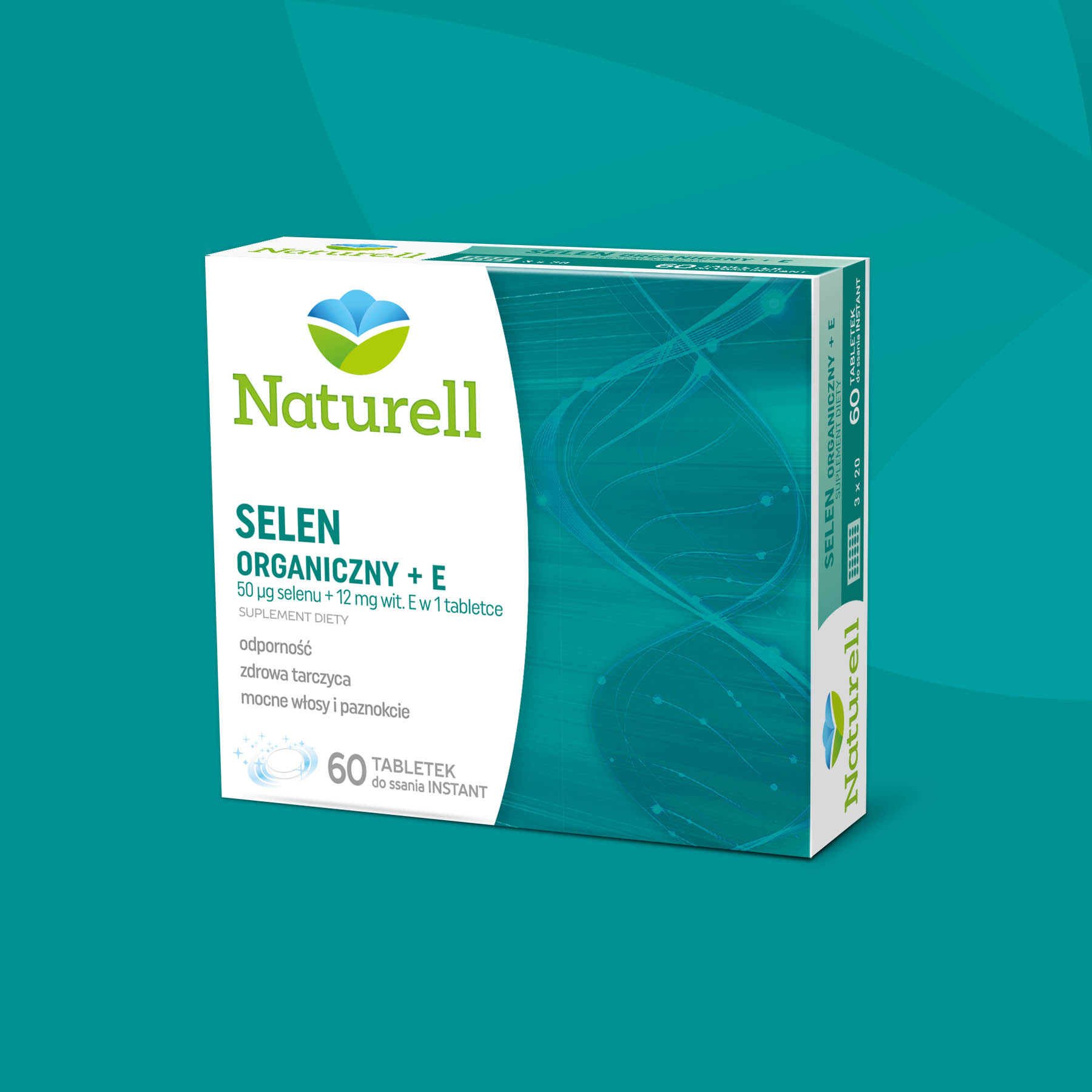 Naturell Selen Package Design