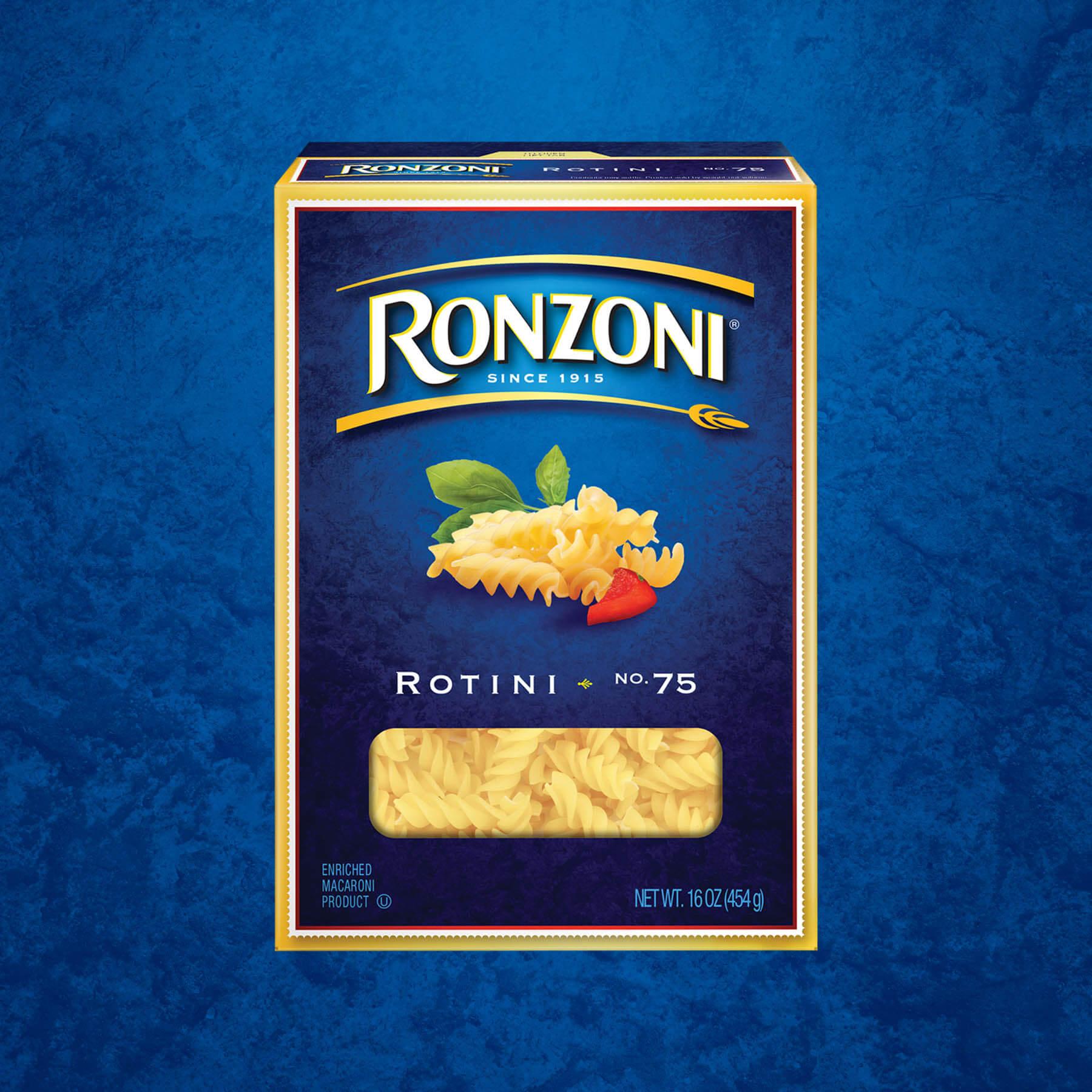 Ronzoni Rotini Package Design