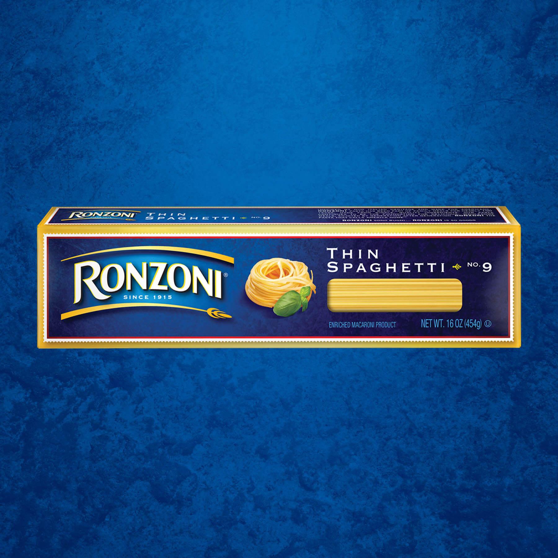Ronzoni Spaghetti Package Design