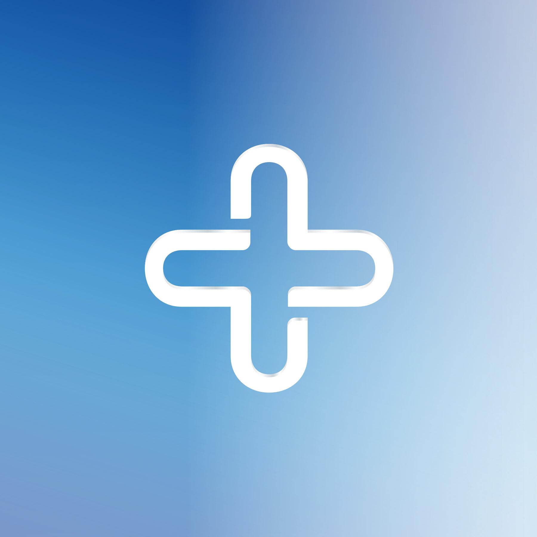 USP Zdrowie Cross Symbol Design