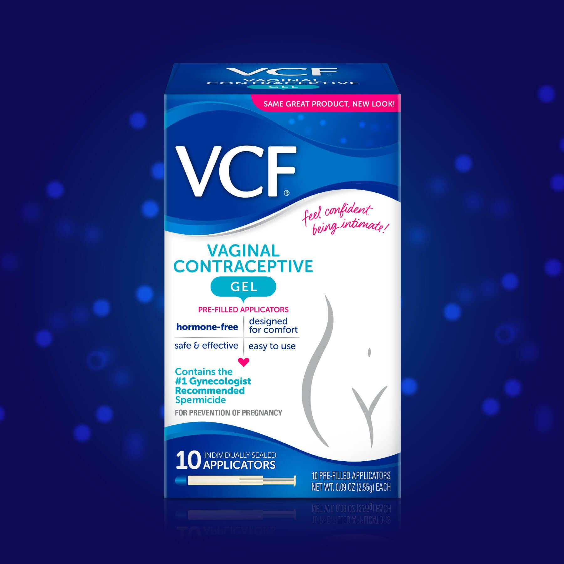 VCF Gel Brand Packaging