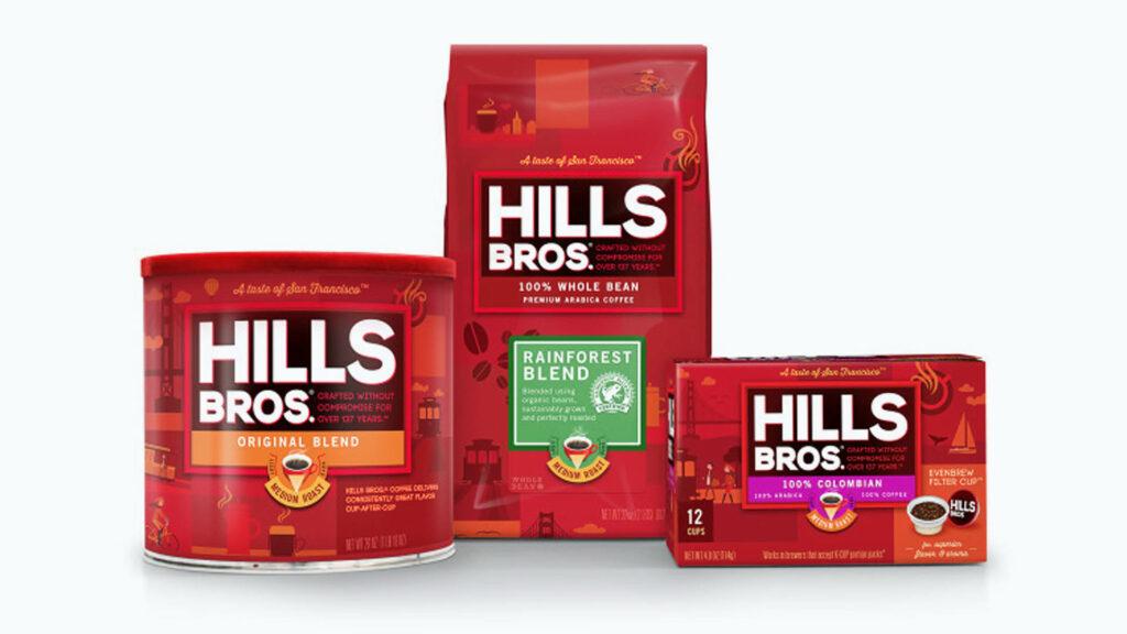 Hills Bros. Package Design