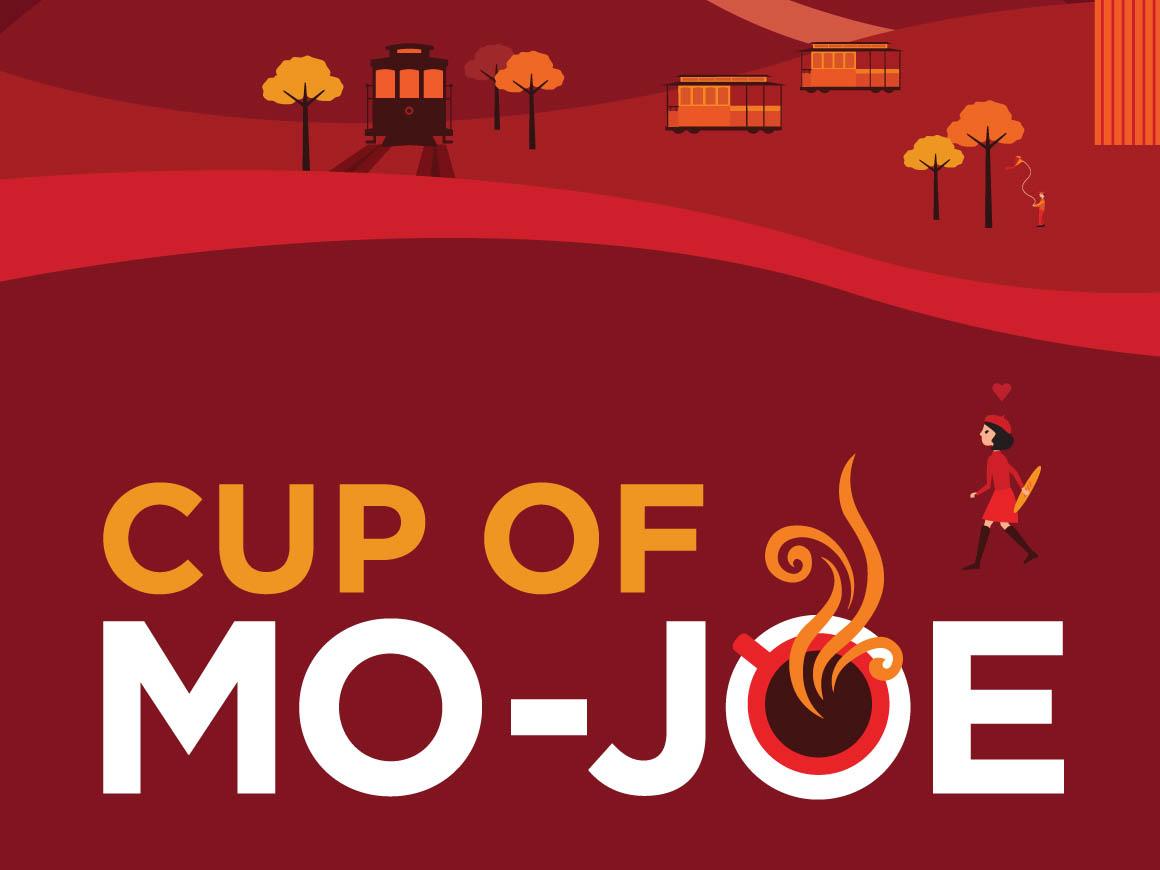 Cup of Mo-Joe Hills Bros. Illustration