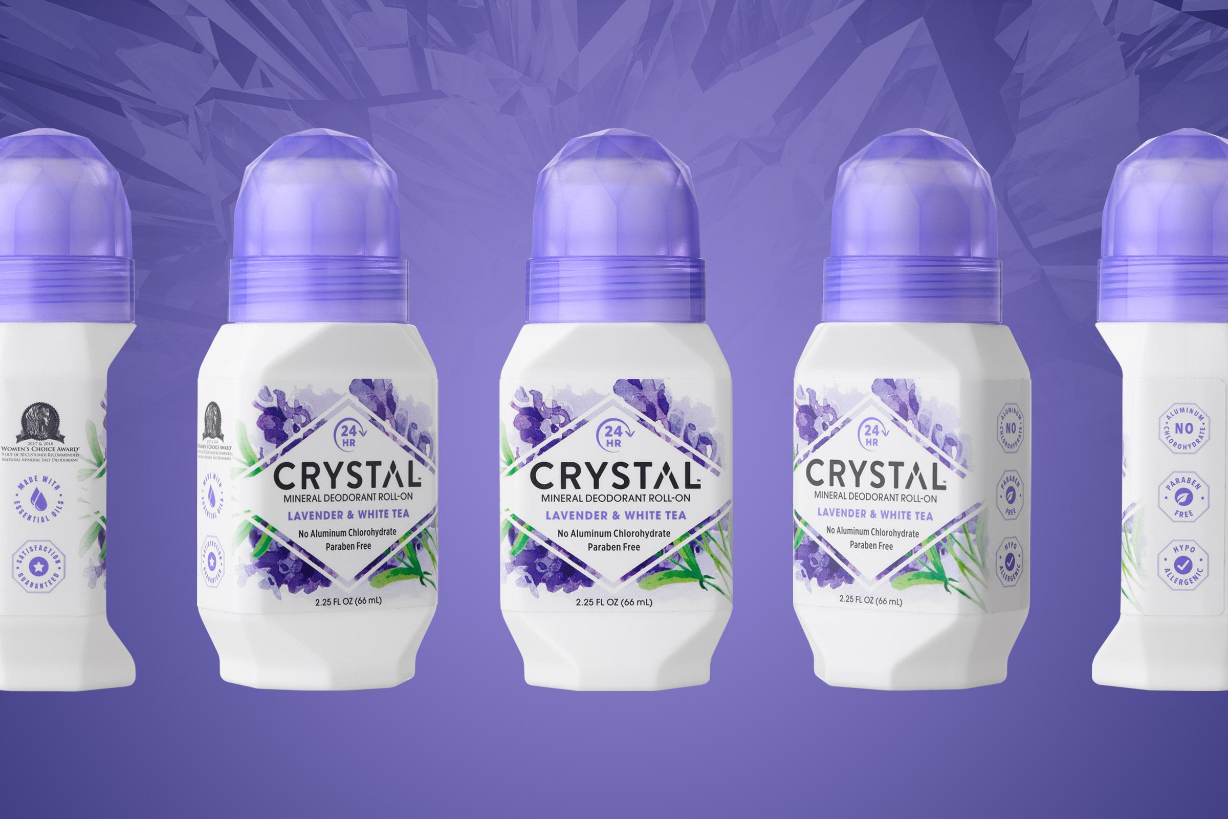 Crystal Deodorant Package Design