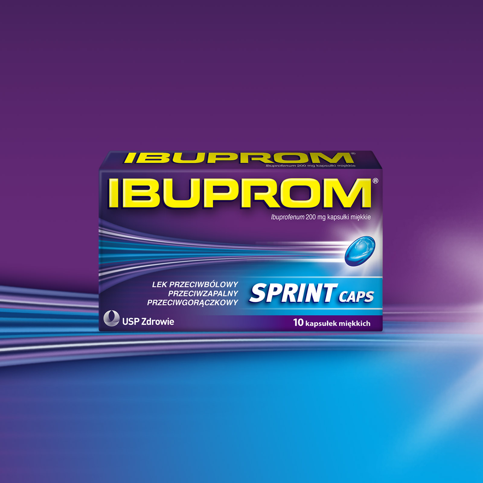 Ibuprom Package Design
