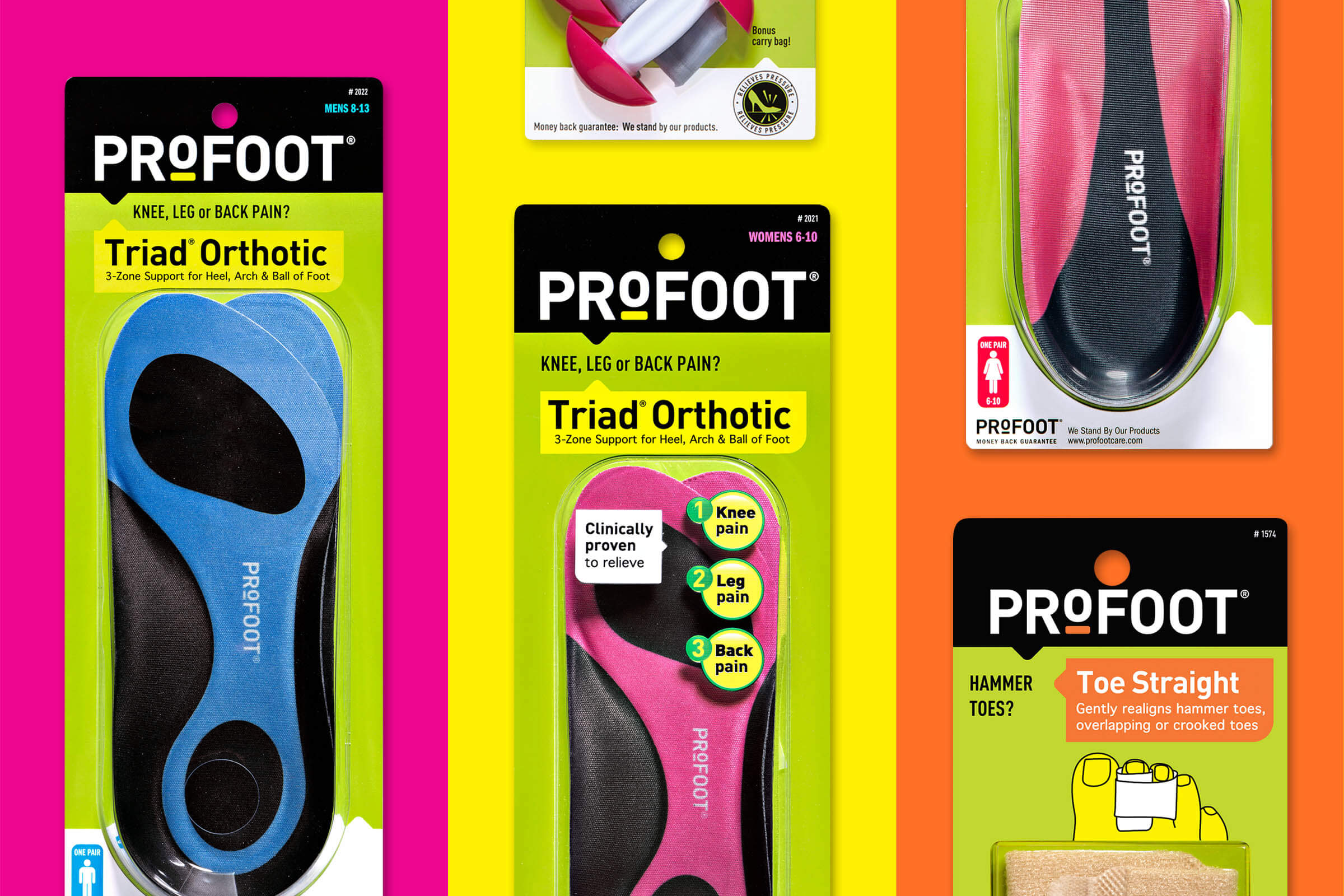 ProFoot Package Design